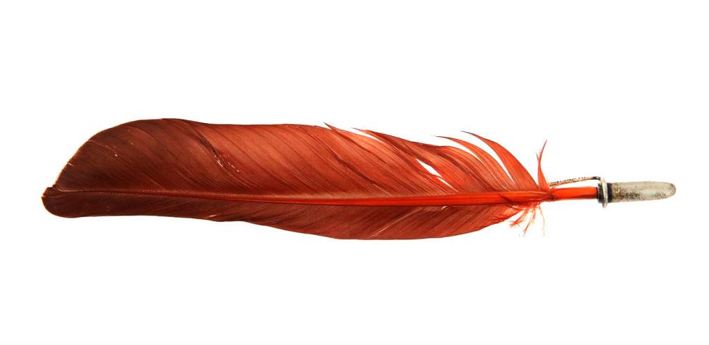 Spilla rossa italian style
