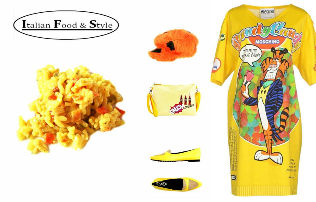 outfit giallo