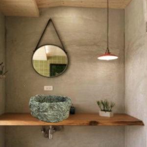 lavabo arredo rustico